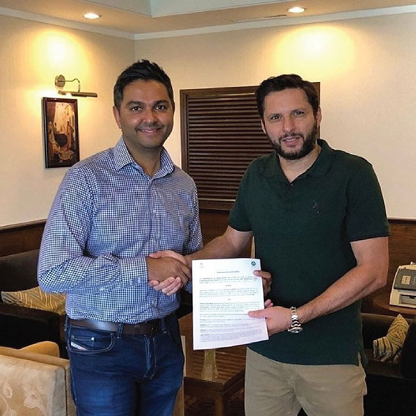 CHARITY PARTNER with PCB