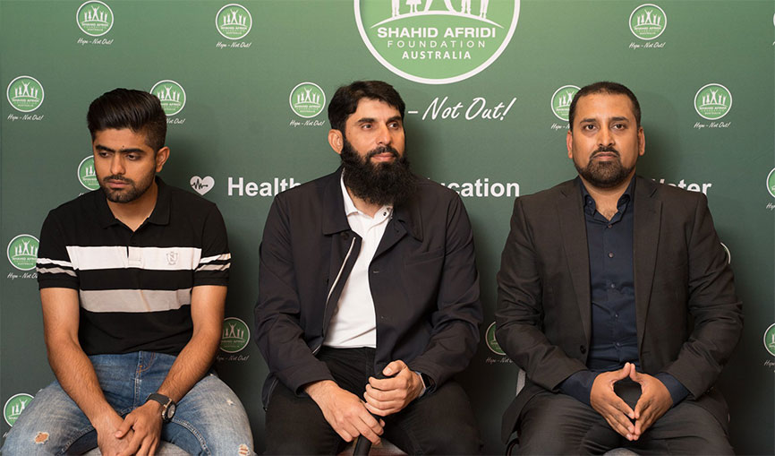 An Evening with Pakistani Cricket Stars