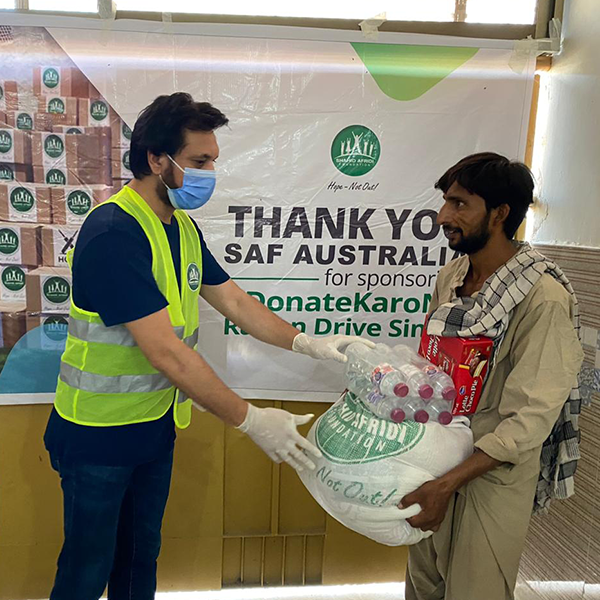 Supporting #DonateKaroNa drive in Pakistan
